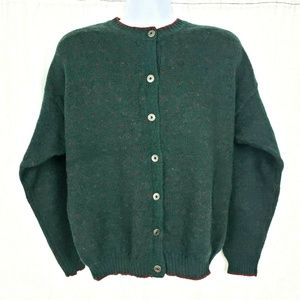 Vintage Woolrich Birdseye Dartmouth Wool Cardigan